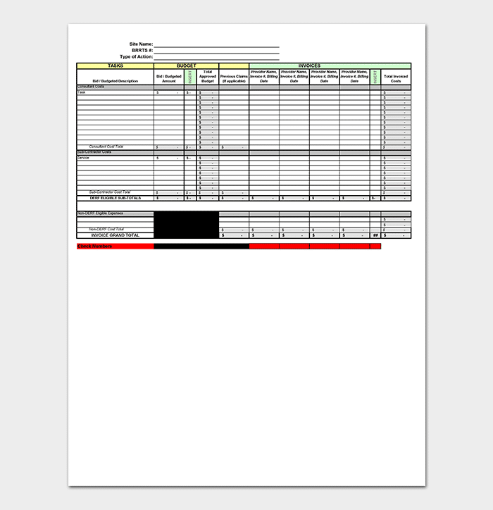 Inventory Tracking Template - 20+ (in Excel & PDF)