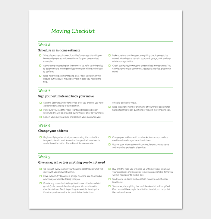 office moving checklist pdf