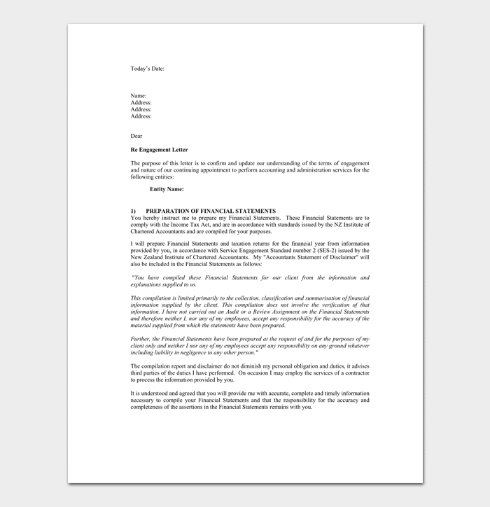 sample of tax agent appointment letter