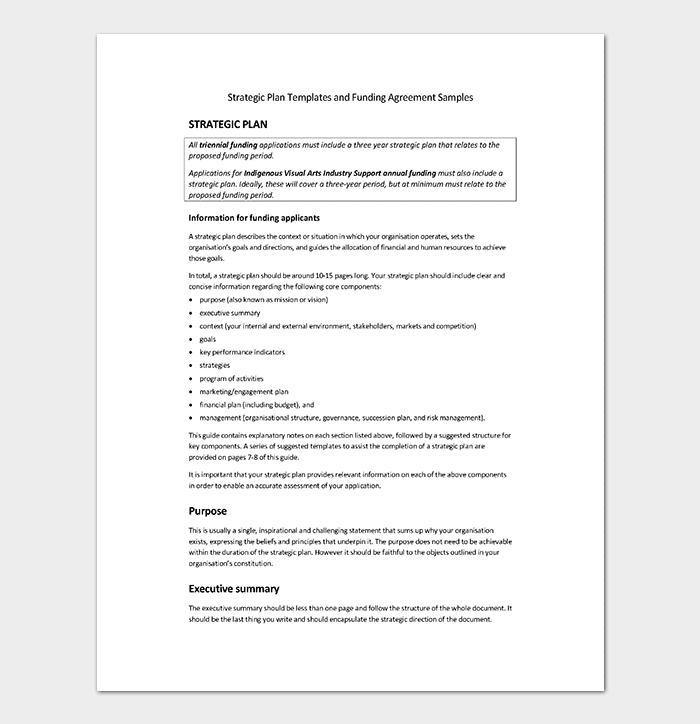 Strategic Paper Planning Template