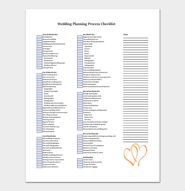 Process Checklist Template 20 Editable Checklists Excel Word Pdf