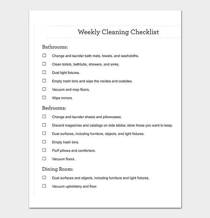 Process Checklist Template - 20+ Editable Checklists (Excel