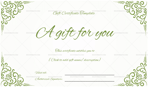 Gift certificate template 19 choose customize for any occasion business gift certificate is mostly presented to loyal customers as appreciation fighting for customers and also for the marketing purposes accmission Choice Image