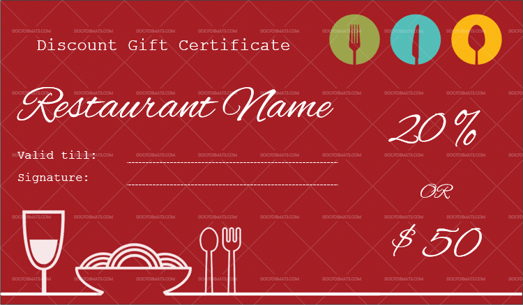 Gift Certificate Template 19 Choose Customize For Any Occasion