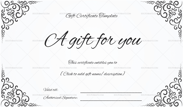 Gift certificate template 19 choose customize for any occasion download now friedricerecipe Gallery