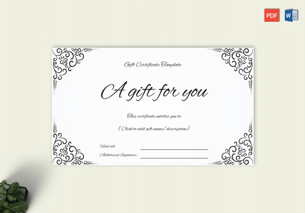 Gift certificate template 19 choose customize for any occasion business gift certificate is mostly presented to loyal customers as appreciation fighting for customers and also for the marketing purposes wajeb
