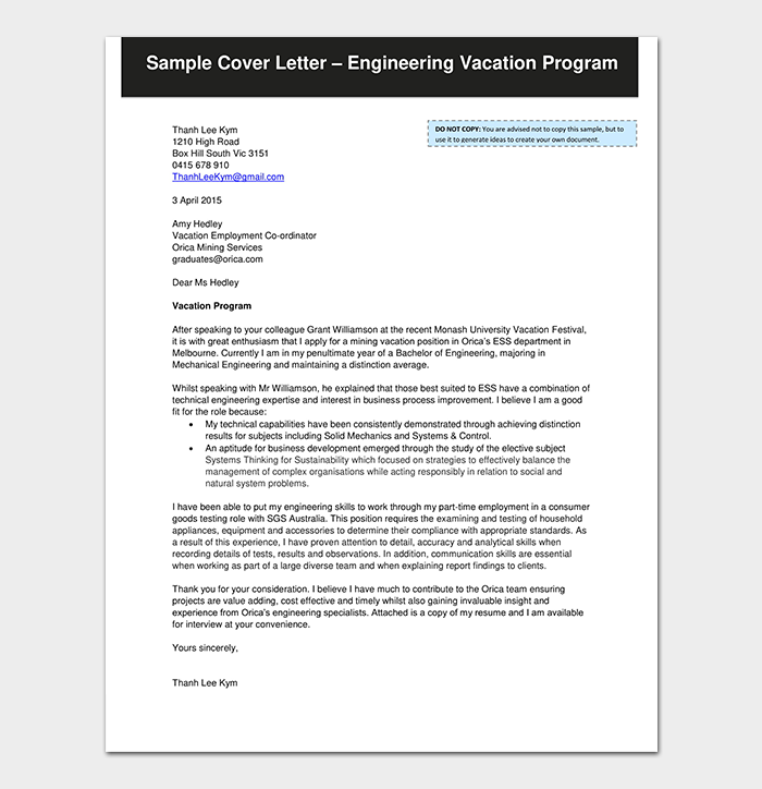 Emergency Leave Request Letter