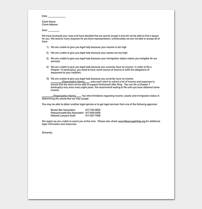 Sample Letter To A Lawyer For Representation from images.docformats.com