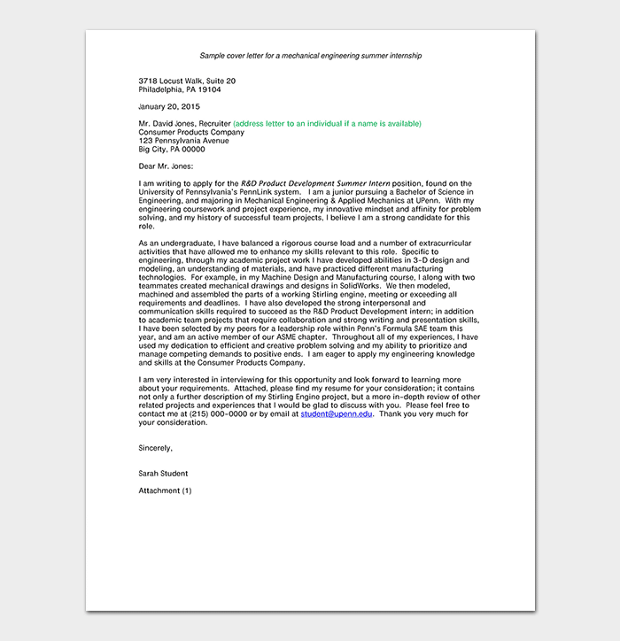 Internship Request Letter How To Write