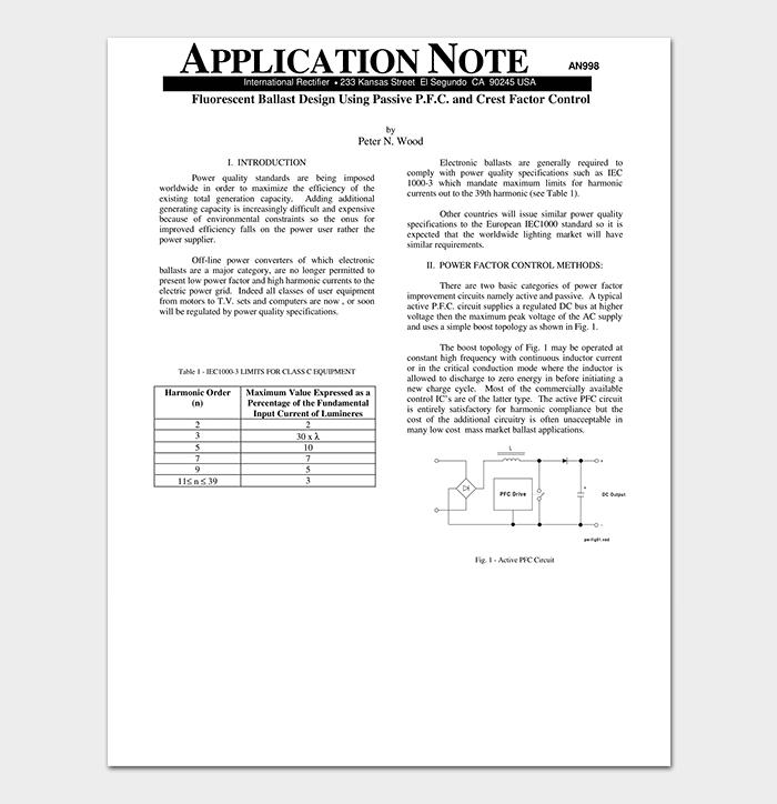 Application Note PDF