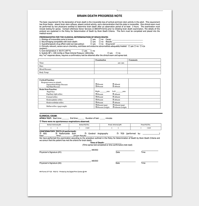 Clinical Note Template from images.docformats.com