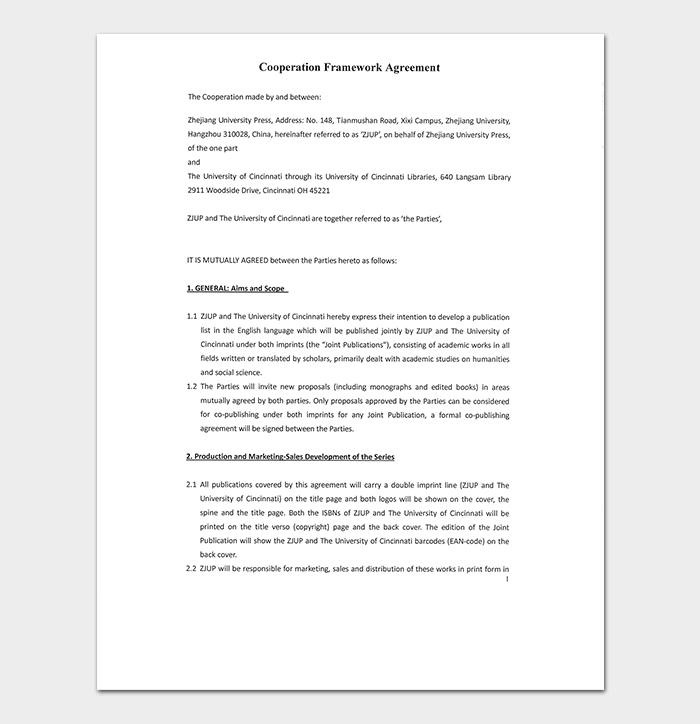 Cooperation Framework