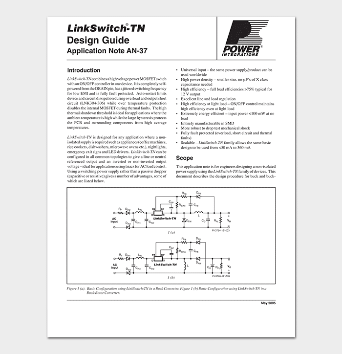 Power Application Note