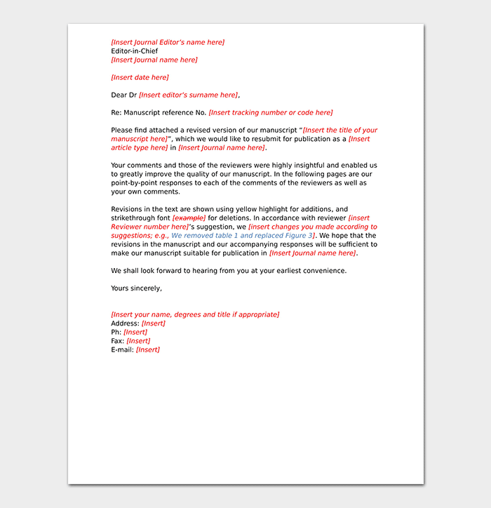 Response Letter to a Request: Format (with Samples)