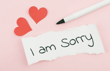 To sorry my wife letter I Am