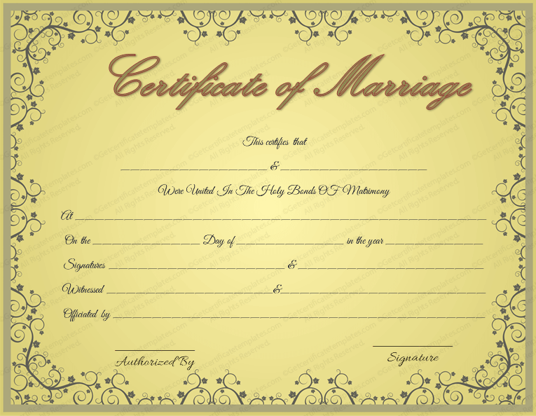 Free Marriage Certificate Template from images.docformats.com