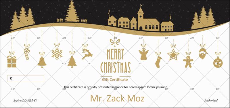 Christmas-Gift-Certificate (Editable Christmas Gift Certificate)