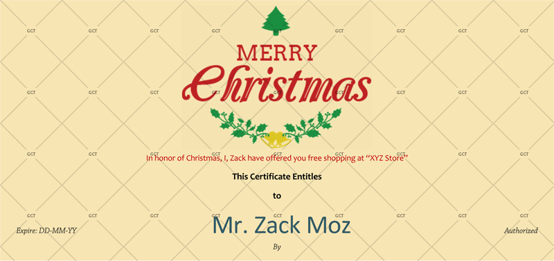 Christmas-Gift-Certificate-Ivory-Background (Christmas Gift Certificate Idea)