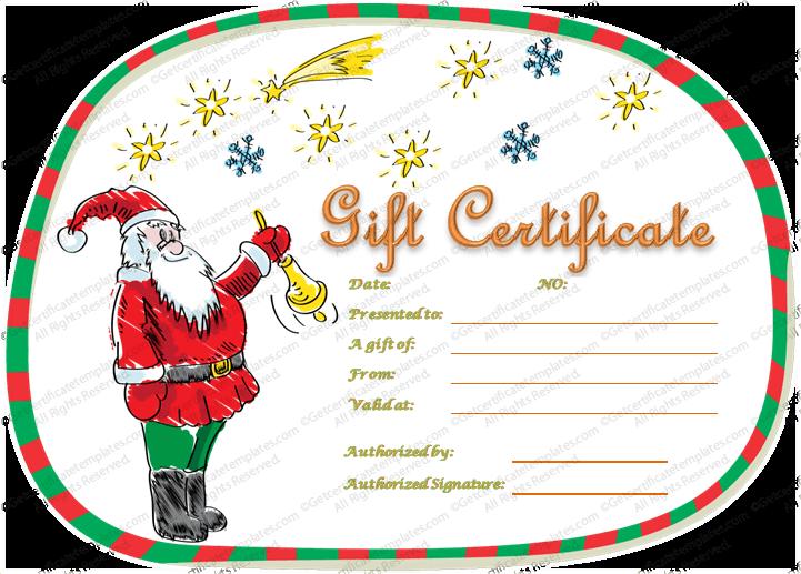 Christmas-Gift-Certificate-Template (Editable Christmas Gift Certificate)