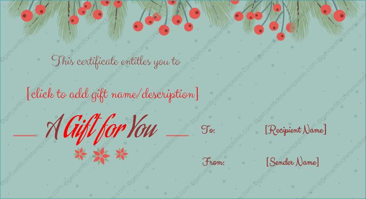 Christmas-Gift-Certificate-WORD (Editable Christmas Gift Certificate)