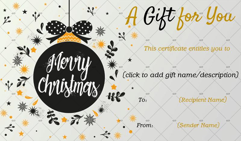 Christmas-Gift-Certificate-for-Girls (Printable Christmas Gift Certificate)