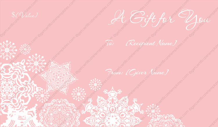 Customizable-Frosty-Christmas-Gift-Certificate-Template