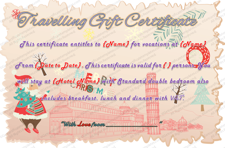 Editable-Travelling-Gift-Certificate