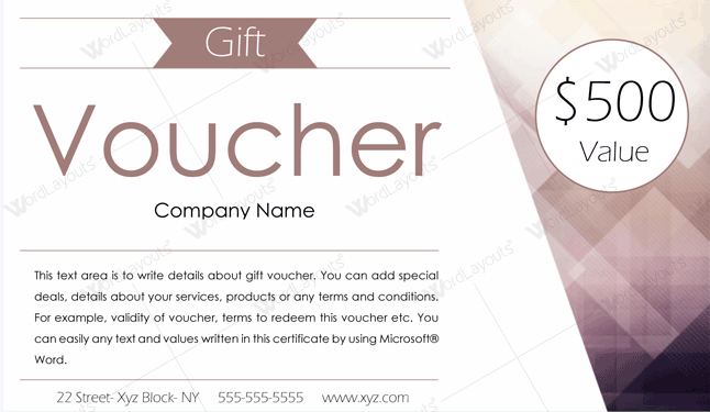 Gift Voucher Template from images.docformats.com