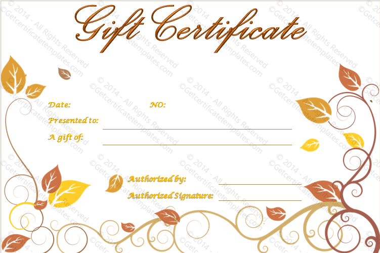 Luxurious Gift Certificate Template (Luxurious, vacation gift voucher template)