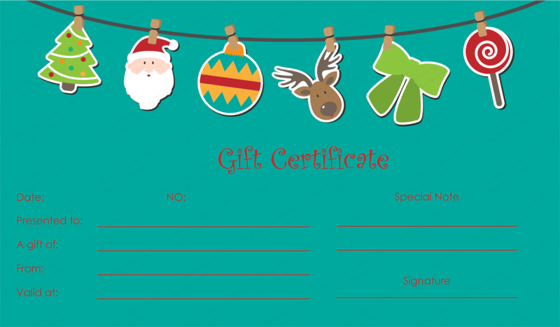 Ornament-Christmas-Gift-Certificate-Template(Christmas Gift Certificate Idea)