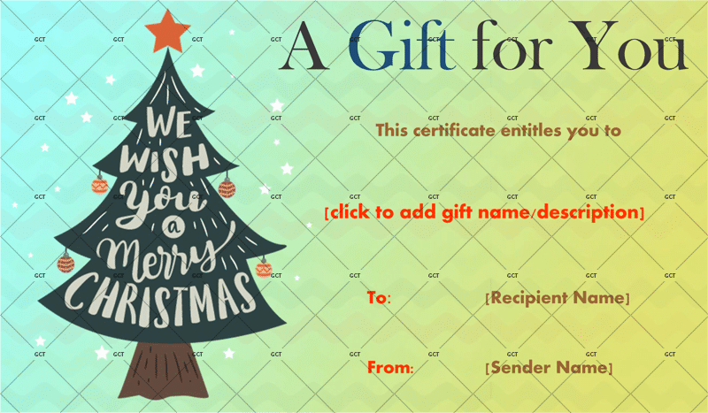 Printable-Christmas-Tree-Wish-Gift-Certificate-With-Ornaments