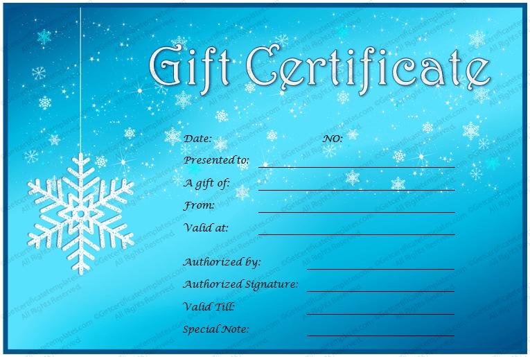 Printable-Snowflake-Motif-Gift-Certificate