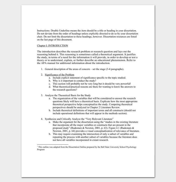 Dissertation outline sample creative writing courses dublin