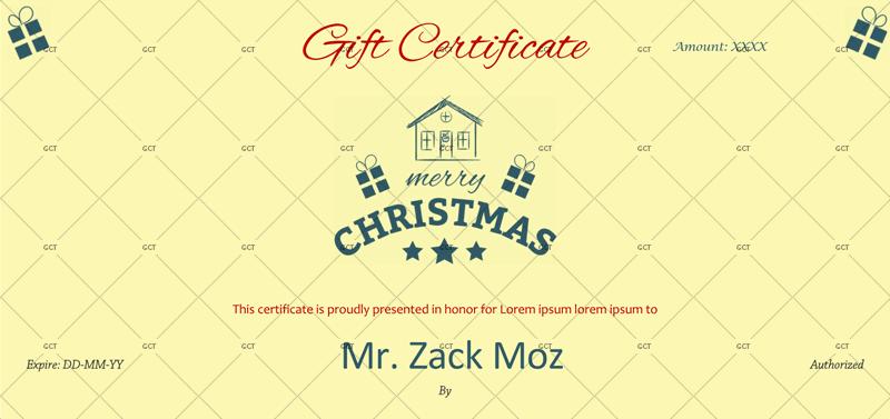 Season Greetings Christmas-Gift-Certificate