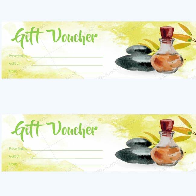 Spa Gift Certificate 14 (beauty voucher template)