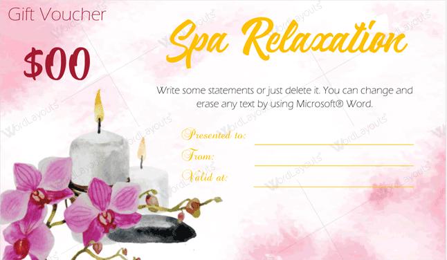 Spa-Gift-Certificate-15 (gift voucher design MS Word)