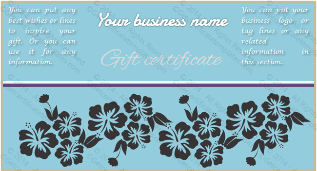 Wedding Gift Certificate Template (Fancy, Customize in Word)