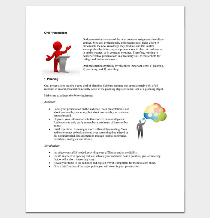 Oral Presentation Outline Template for PDF 1