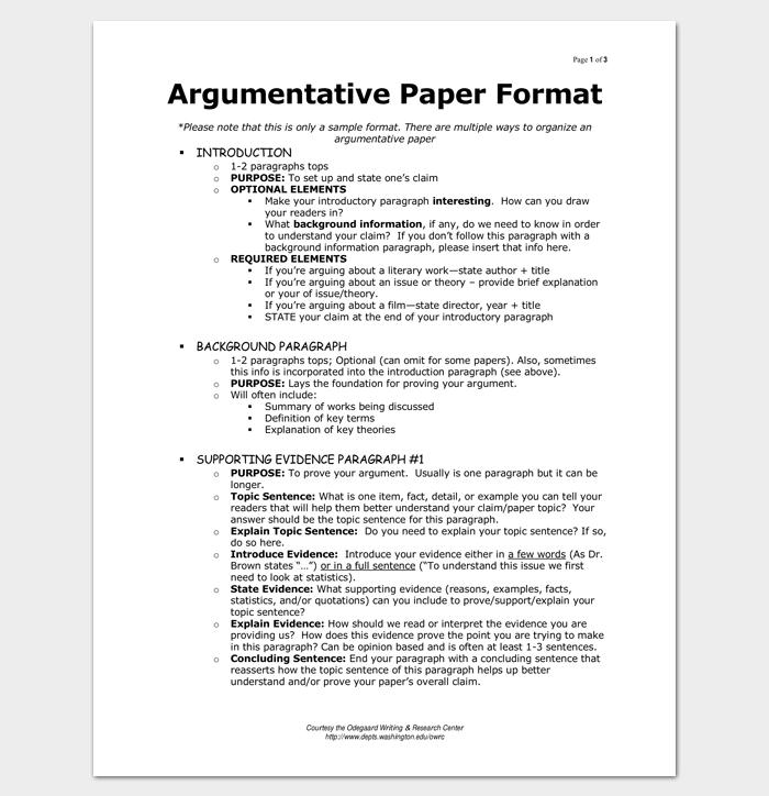 Sample Argumentative Essay Outline for PDF 1