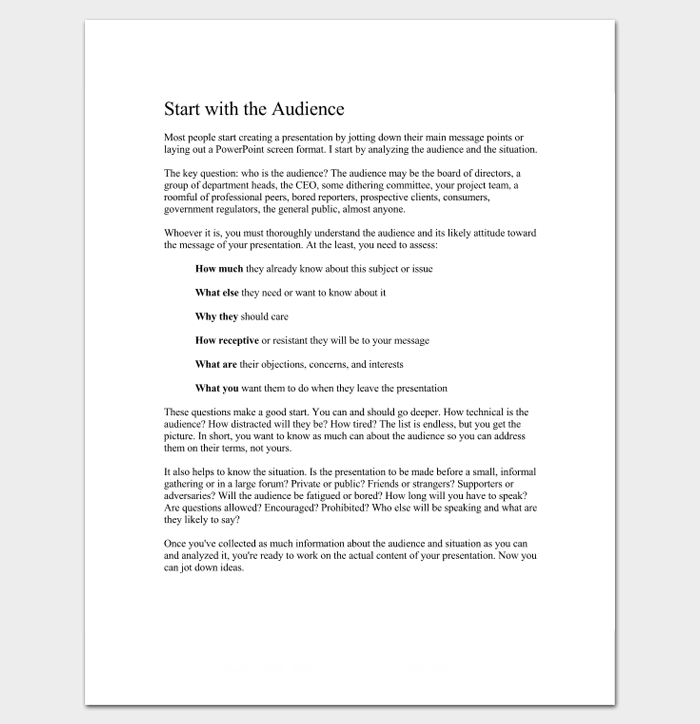 Ultimate Business Presentation Outline Template (Plus Guide) 1