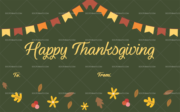 15 Thanksgiving Gift Tag Template Leaves Blank Template