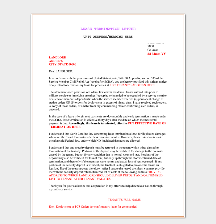 Termination Legal Services Letter from images.docformats.com