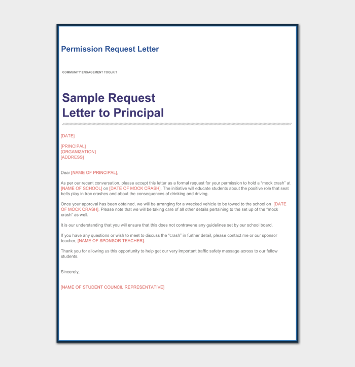 Permission Request Letter to Principal1