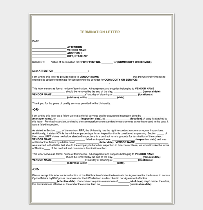 Service Agreement Termination Letter from images.docformats.com