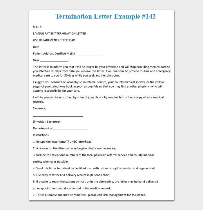 how to write a termination letter to fire employee with