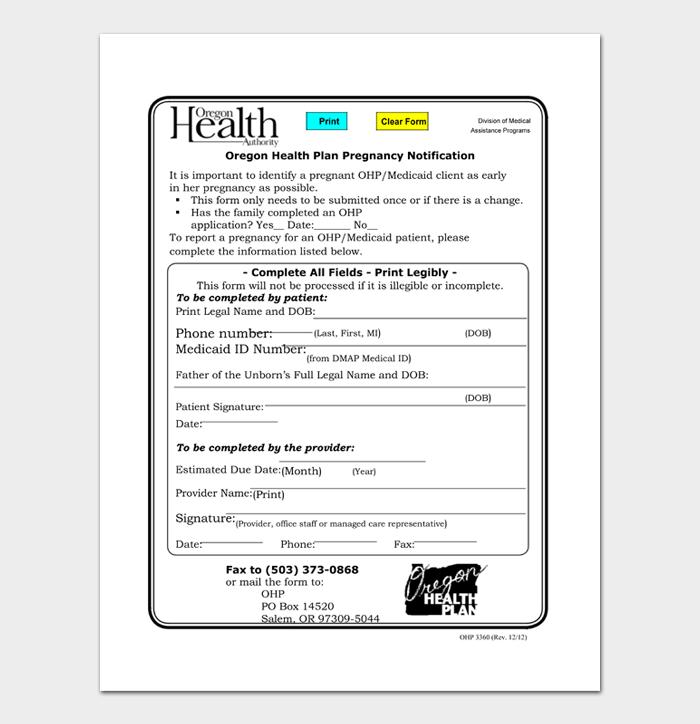 Fake Pregnancy Confirmation Letter from images.docformats.com