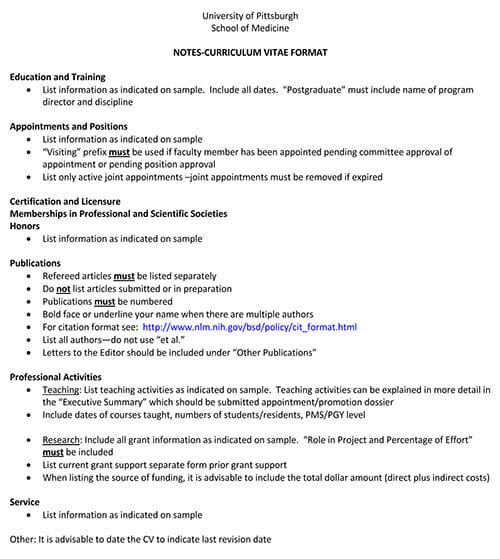 17 Free Curriculum Vitae Cv Templates And Examples Word Pdf