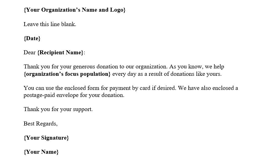 Fund-Collection-Letter