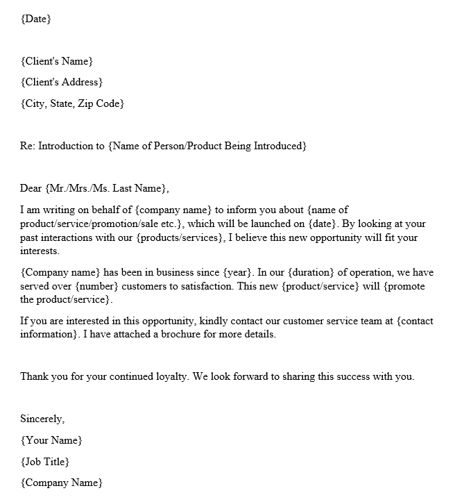 Business Introduction Email (Template and Example)