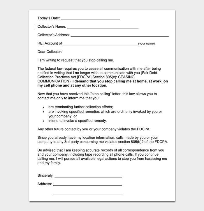 Debt Collection Letters #23